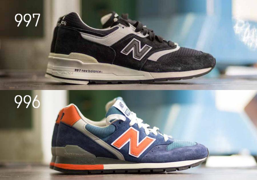 ニューバランスM996とニューバランスM997