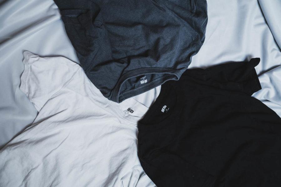 ユニクロ クルーネックTシャツ