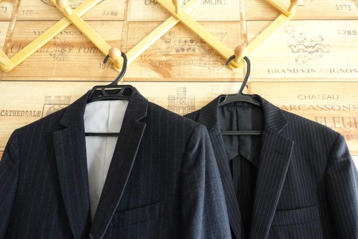 高いスーツと安いスーツ