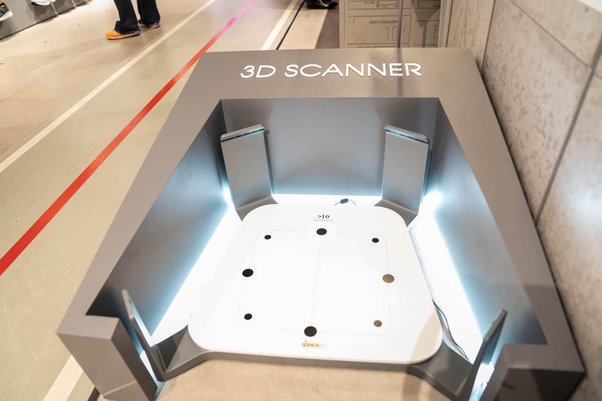 ニューバランス原宿3D測定