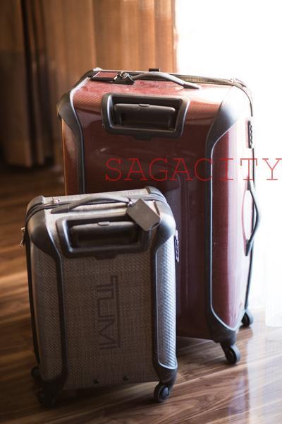 愛用しているトゥミスーツケース