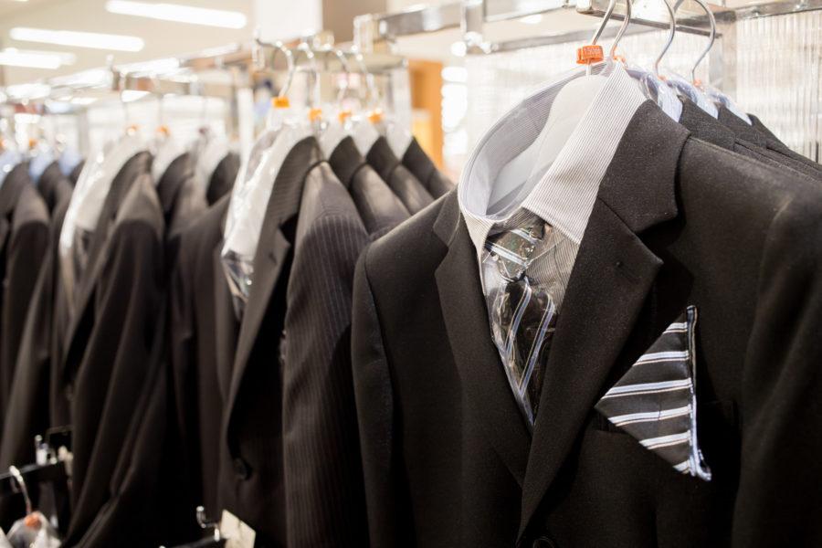 百貨店スーツ