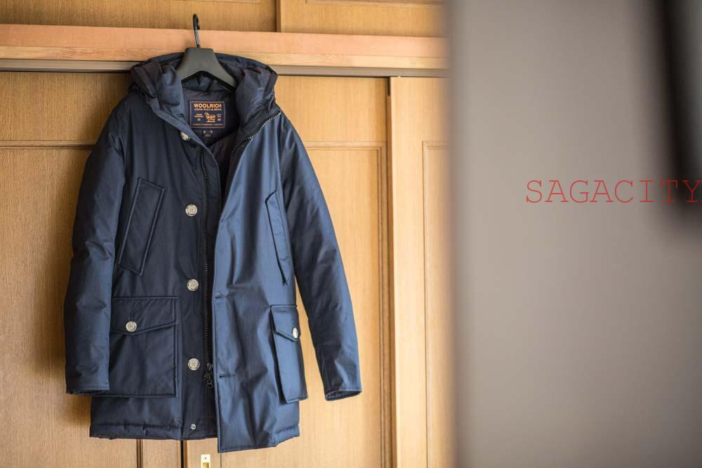 WOOLRICH(ウールリッチ)ファー取り外した画像
