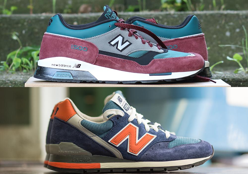 ニューバランス1500と996