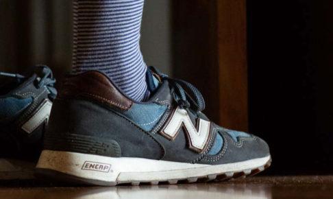 カジュアル靴下とニューバランス