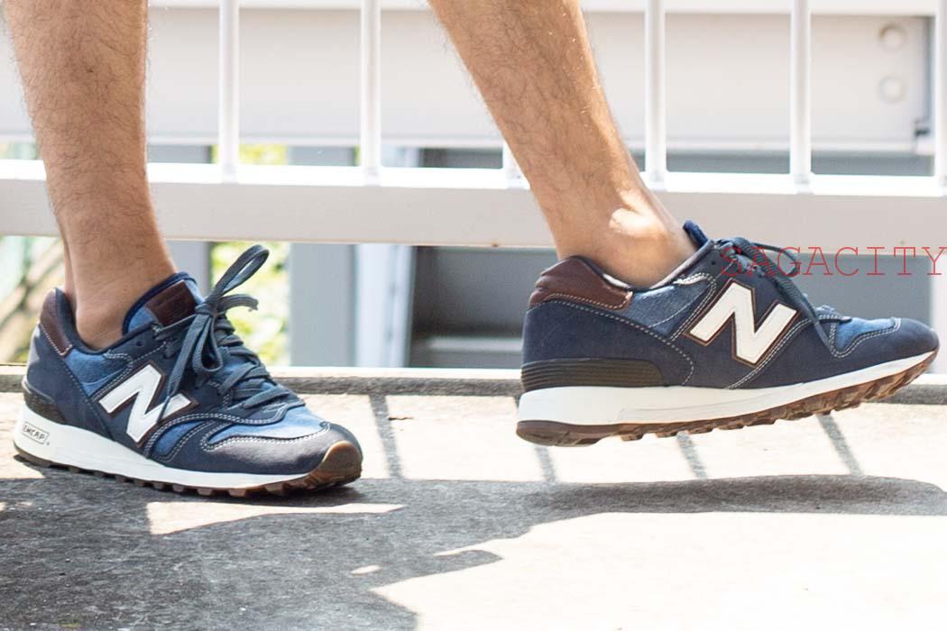 ニューバランス1300と見えない靴下