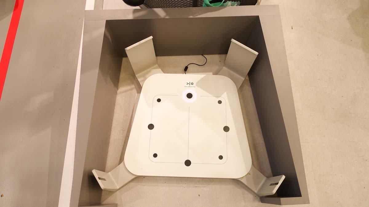 ニューバランス名古屋3D計測器
