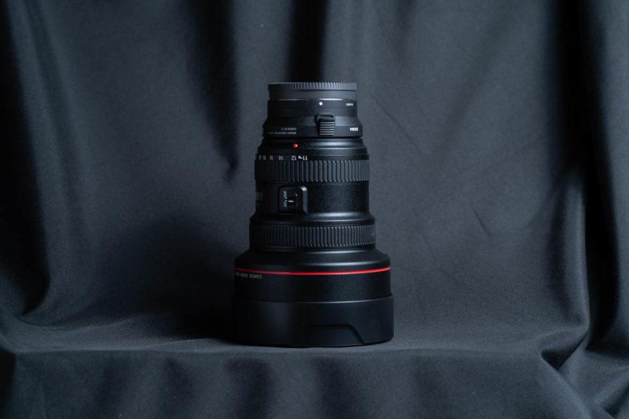 CANON EF11-24mm シグマMC-11