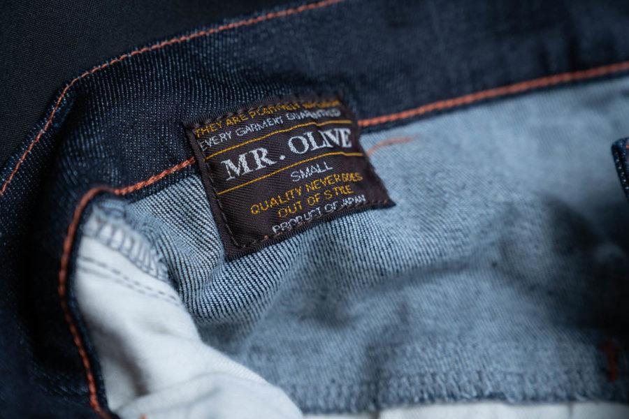Mr.OLIVEミスターオリーブのスーパーストレッチデニム