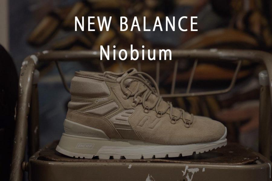 ニューバランス ブーツ Niobium ニオビウム