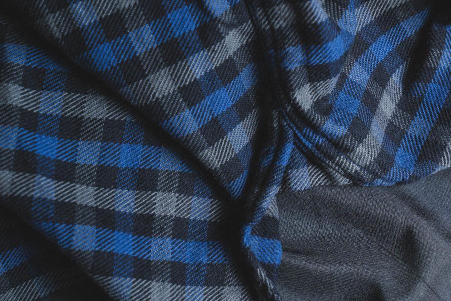 クッシュマン チェックシャツのマチ