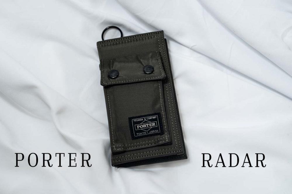 ポーター RADAR 財布代わりになるスマホケース