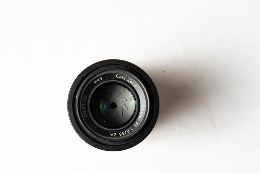 ソニーSEL FE55F1.8