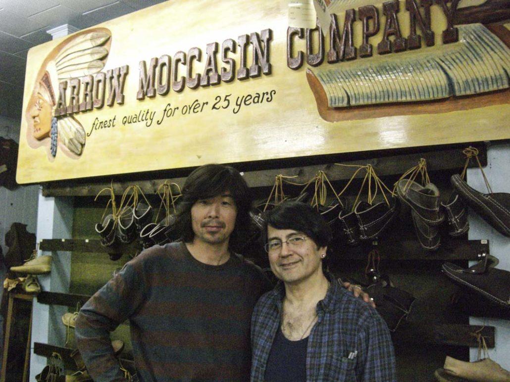 Bristy鈴木さんとアローモカシンポールさんBristy鈴木さんとアローモカシンポールさん