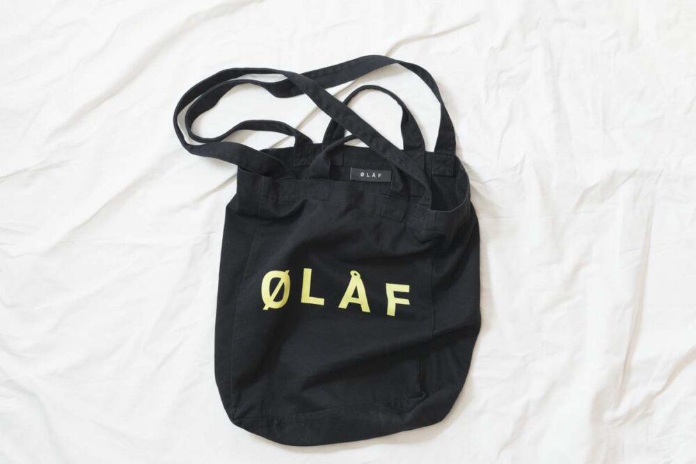 Olaf Hussein(オラフハンセン)のトートバッグ